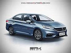 2020 honda city hybrid rendered with big exterior changes