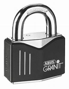 700335 Abus Schloss Granit 58 Black Loop Kette 12mm