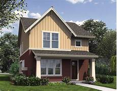 narrow house plans with front garage narrow home plan with rear garage 69518am 2nd floor