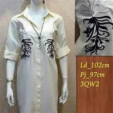 jual jul102 hitam putih midi maxi gamis tunik kemeja terusan di lapak fortuna88 celynjo