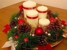 come creare le candele p 236 creativa centrotavola natalizio