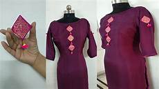 How To Make Kurti Neck Design With Embroidery