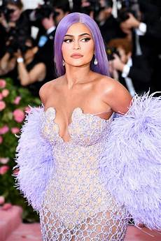 Kylie Jenner Kylie Jenner Says She Quot Can T Breathe Quot In Purple Versace