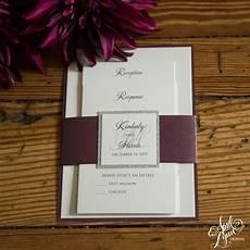 kimberly harris s elegant wedding invitation suite