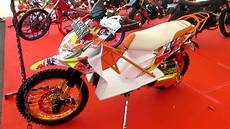 Honda Beat Modif Trail by Motor Matic Honda Beat Dimodifikasi Ekstrim Jadi Motor