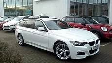 bmw 320d xdrive m sport touring in alpine white