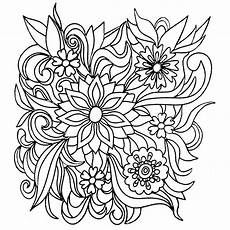 colors of nature colouring book flowers coloring
