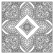 mandala pattern worksheet 15928 50 free square patterns kaleidoscope coloring printables simple mandala square