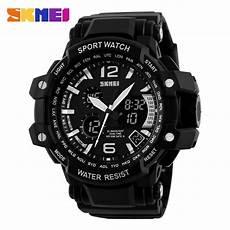 Jam Tangan Skmei Pria Ad1155 skmei jam tangan analog digital pria ad1137 black