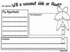 float and sink word search sink or float worksheet theme