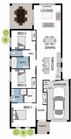 townsville builders house plans townsville builder 3 bedroom narrow floor plan with