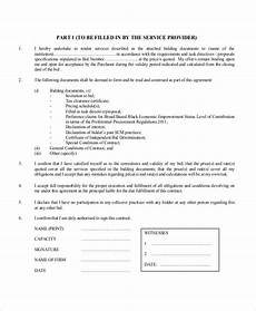 free 20 sle contractor forms in pdf doc