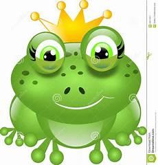 Ausmalbild Frosch Mit Krone Frosch Mit Krone Stock Abbildung Illustration Tier