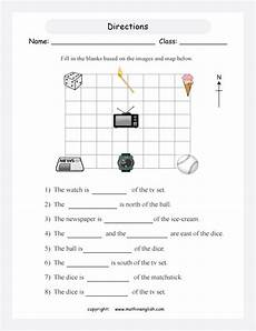 worksheets on directions for grade 4 11747 23 info class year 4 printable 2019