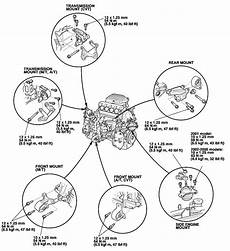2007 honda accord engine diagram how do you remove and replace front engine motor mount for a 2004 honda civic si