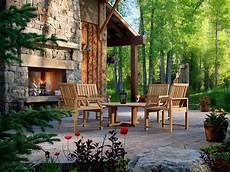 20 cozy outdoor fireplaces hgtv