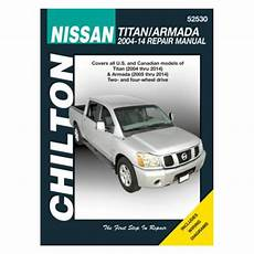 free service manuals online 2005 nissan armada electronic toll collection chilton 174 52530 nissan titan armada repair manual