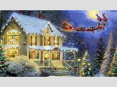 The Night Before Christmas HD Wallpaper   Background Image