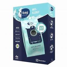 Sac Aspirateur Aeg S Bag Hygi 232 Ne Anti Allergie X 4 Sacs