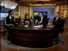 Chris Bosh On Primetime CTV With Big 25 Shirt  Streetwear