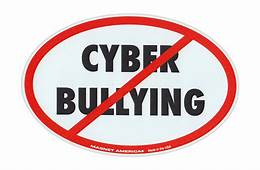Magnetic Bumper Sticker  Stop Cyber Bullying Anti Bully