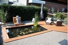 Schöner Garten Terrasse - gartenteich mit holzterrasse gartenteiche teichbauer