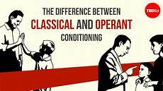 the difference between classical and operant conditioning peggy andover youtube