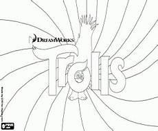 ausmalbilder poppy die prinzessin der trolls zum