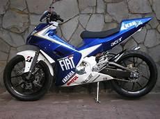 Modifikasi F1zr by Gambar Modifikasi Motor Yamaha F1zr Terbaru Sporty Dan