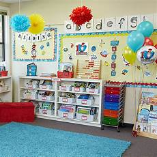 Classroom Decorations by Dr Seuss Classroom Decorating Kit City