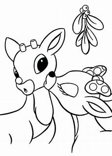 Malvorlagen Weihnachten Rentiere Mistletoe Coloring Pages Best Coloring Pages For