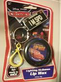 DISNEY CARS Lightning McQueen Key Chain Back Pack Holder