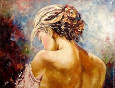 Frauen Rücken - painting tenderness заказать на ярмарке мастеров