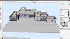 faire des plans de maison tuto cr 233 er une maison 3d complexe 224 partir de plan en