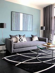 Blue And Grey Living Room Zion