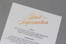 What To Put In Wedding Invitations