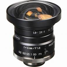 kowa c mount 6mm f 1 8 16 1 quot hc series fixed lens lm6hc
