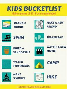 summer bucket list for kids 60 ideas to create the best