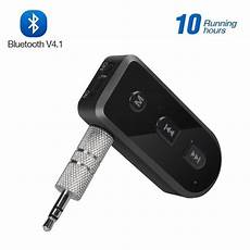 universal 3 5mm car bluetooth audio adapter auto aux