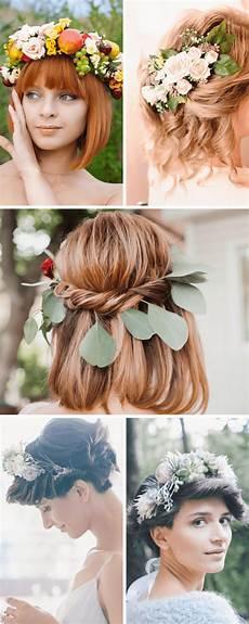 25 Brautfrisur Ideen F 252 R Kurze Und Mittellange Haare