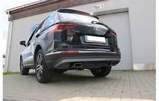 Fox Duplex Sportauspuff Vw Tiguan 2 Typ Ad1 Benziner Bj