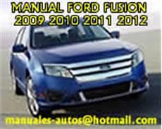 manual repair autos 2010 ford fusion engine control ford fusion 2011 2012 manual de taller de mecanico mantenimiento motor