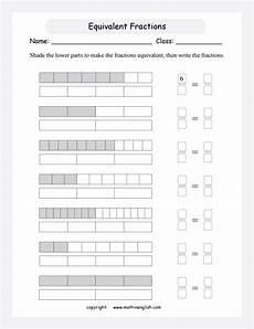 equivalent fraction worksheets grade 3 3916 equivalence in fractions printable grade 3 math worksheet