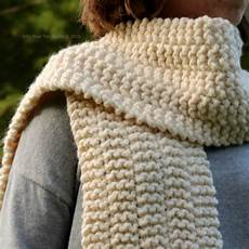 Strickmuster Schal Lochmuster - fifty four ten studio new easy scarf knitting pattern