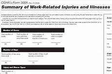 brief tutorial completing the osha recordkeeping forms text version occupational safety