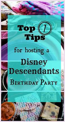 How To Plan A 9 Year S Disney Descendants Themed