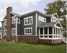 image result for red brick with dark grey siding house paint exterior exterior paint colors