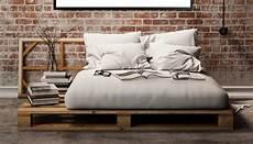 Europaletten Bett 160x200 - europalette moebel wohnen bett m 246 bel schlafzimmer