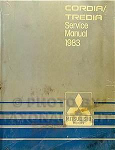 free service manuals online 1987 mitsubishi tredia on board diagnostic system 1983 mitsubishi cordia tredia repair shop manual original