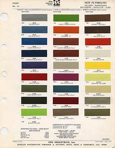 ghosts of the great highway vintage mopar color swatch cards